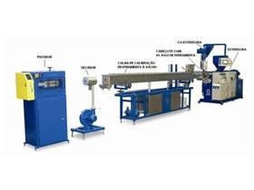 Extrusora para fabricação de tubos de PVC