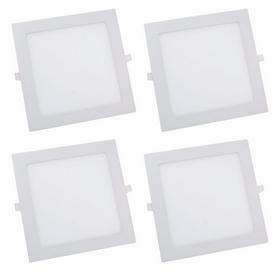 Lâmpada de LED quadrada de embutir